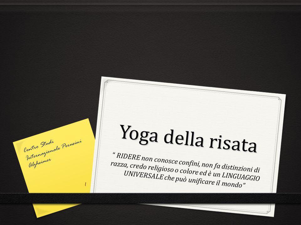 Yoga della risata Centro Studi Internazionale Perusini Alzheimer.