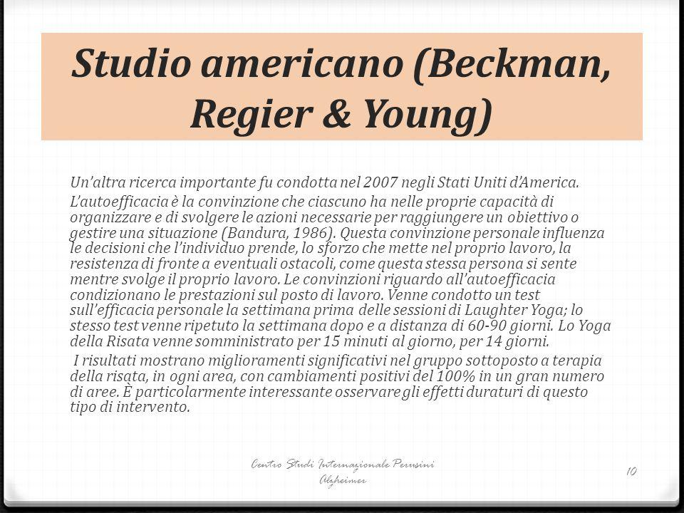 Studio americano (Beckman, Regier & Young)