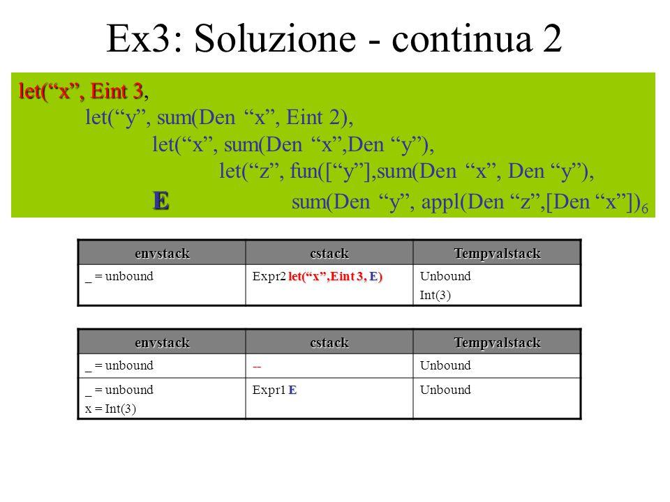 Ex3: Soluzione - continua 2