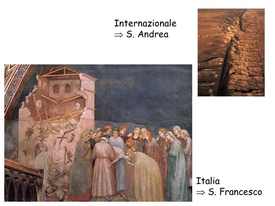 Internazionale  S. Andrea Italia  S. Francesco