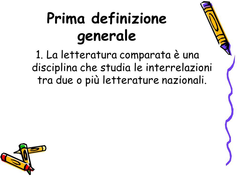 Prima definizione generale