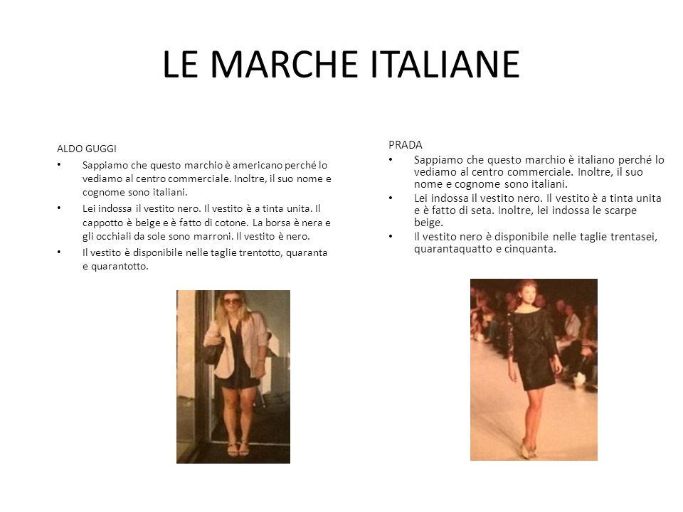 LE MARCHE ITALIANE PRADA