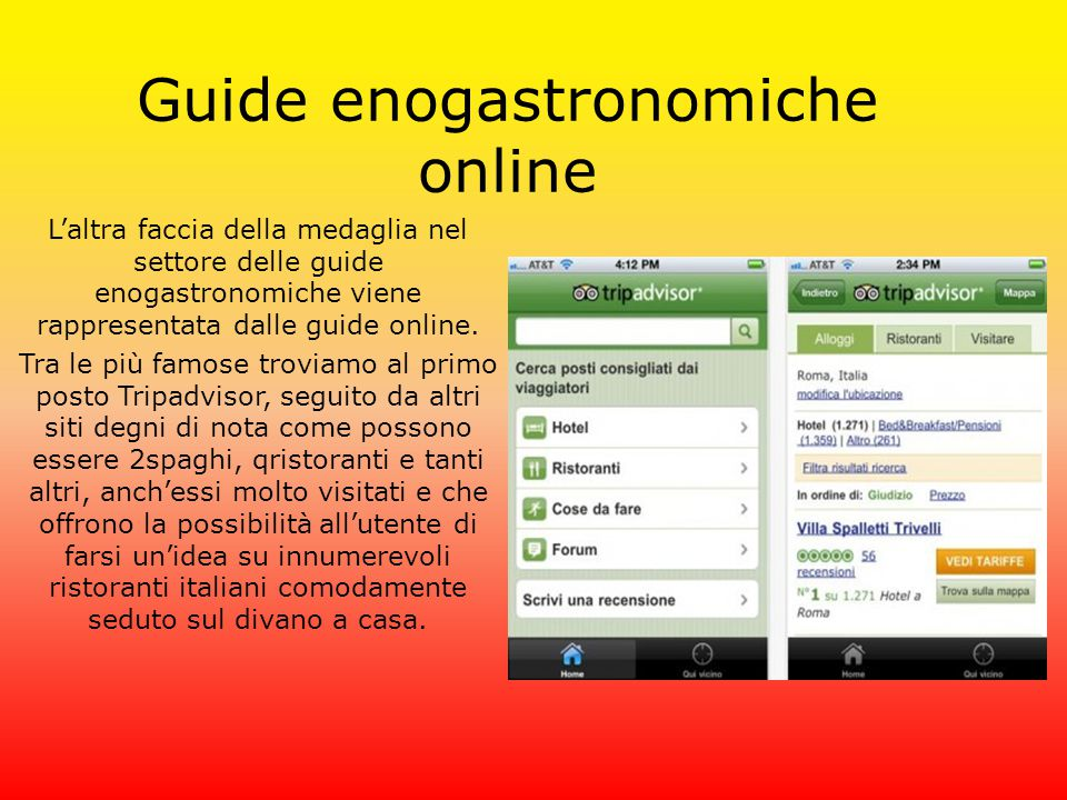 Guide enogastronomiche online