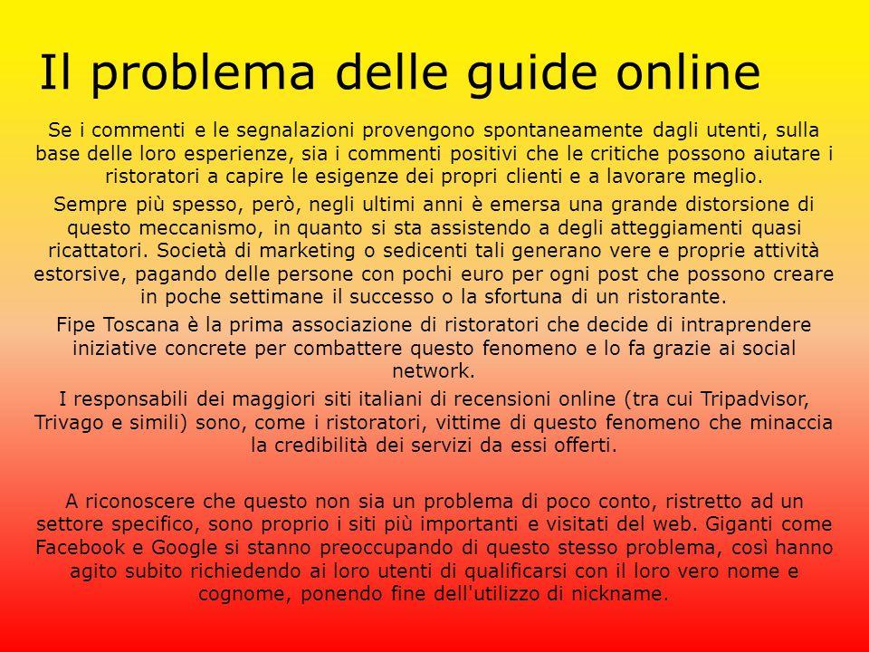 Il problema delle guide online