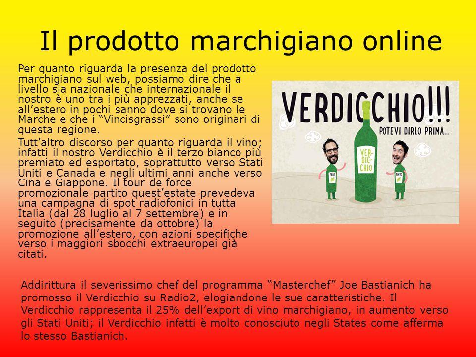 Il prodotto marchigiano online