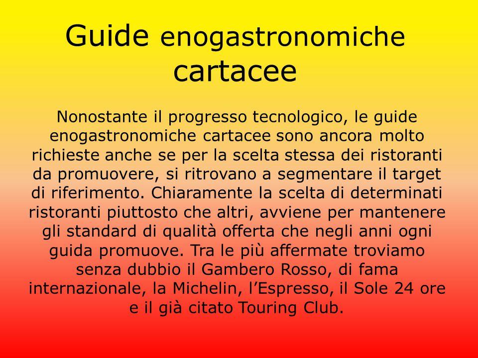 Guide enogastronomiche cartacee