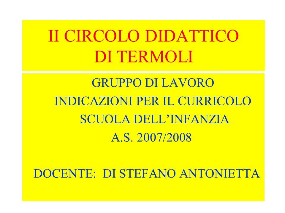 II CIRCOLO DIDATTICO DI TERMOLI