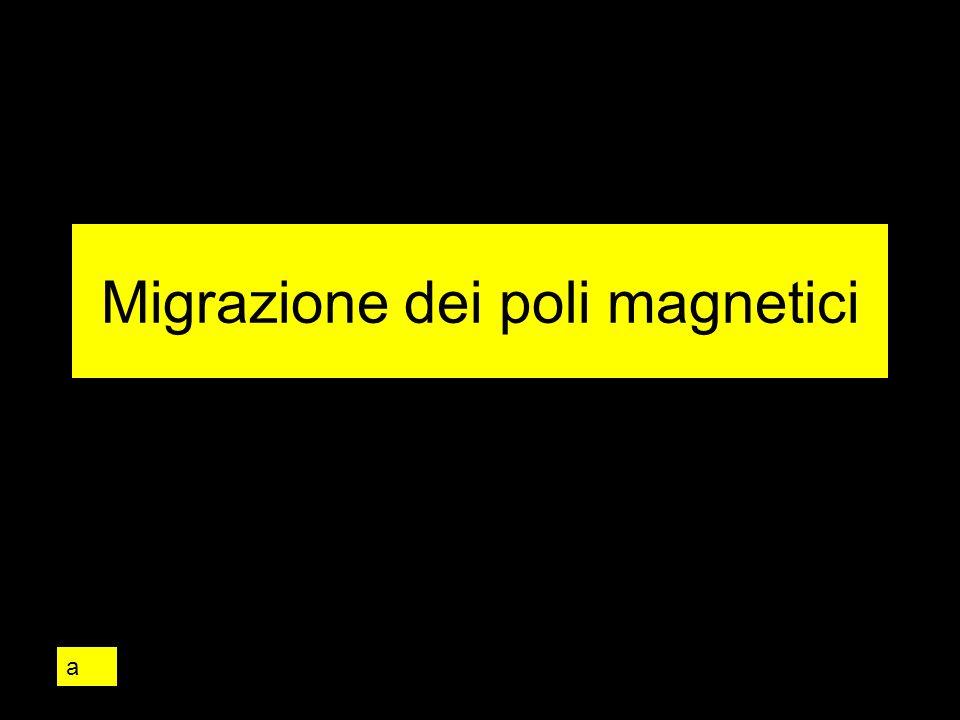 Migrazione dei poli magnetici