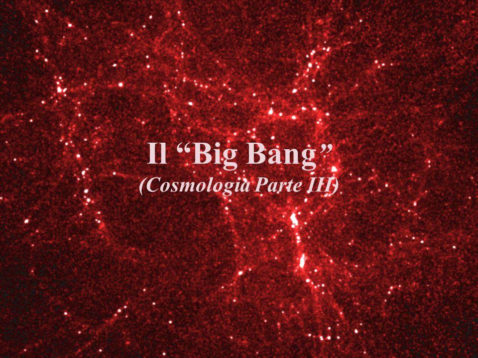Il Big Bang (Cosmologia Parte III)