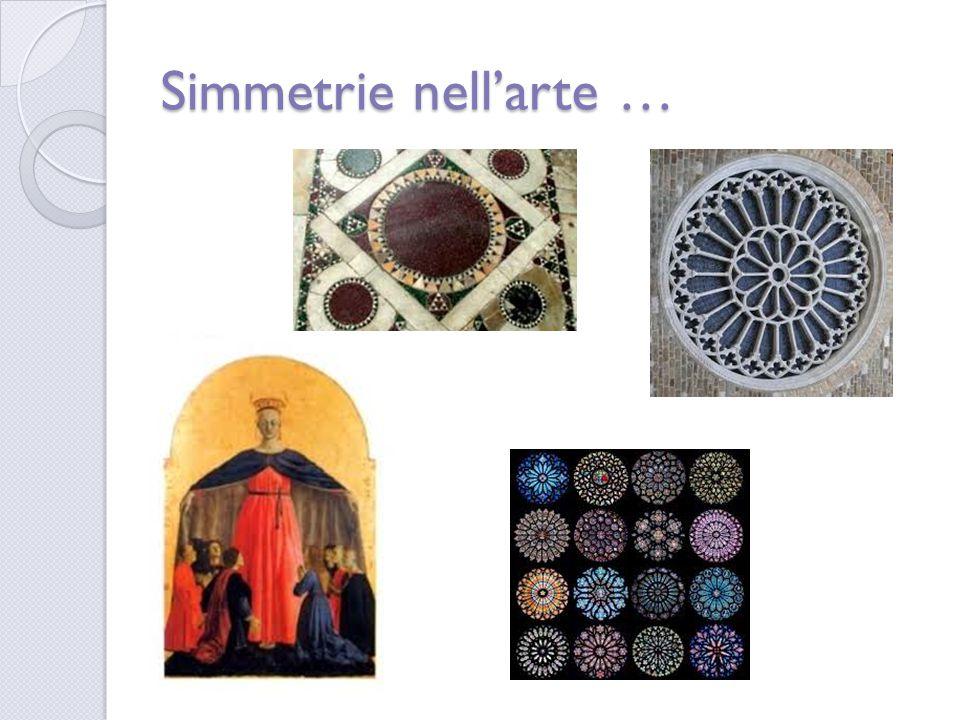 Simmetrie nell'arte …