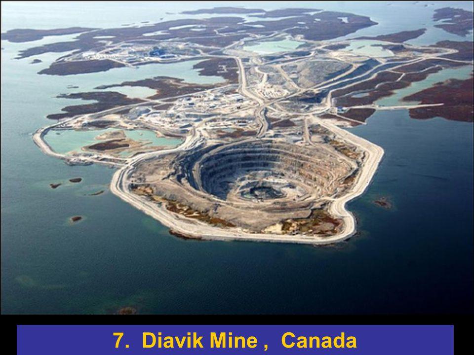 7. Diavik Mine , Canada