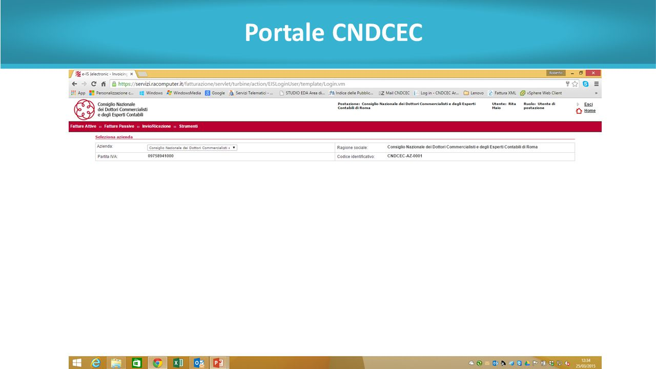 Portale CNDCEC