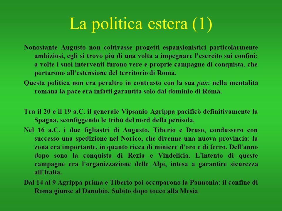 La politica estera (1)