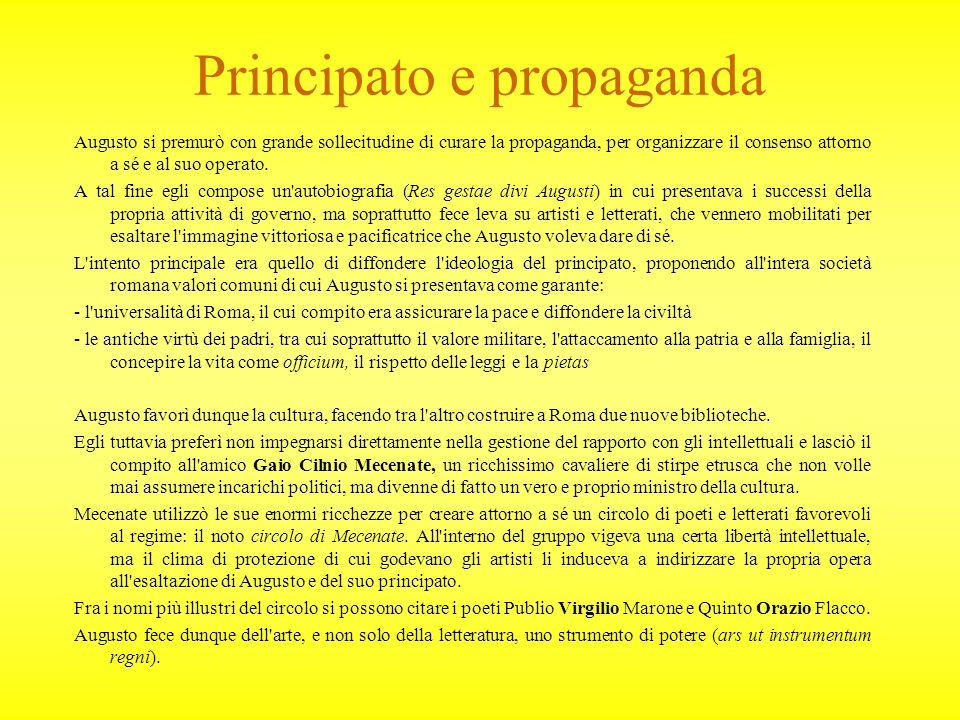 Principato e propaganda
