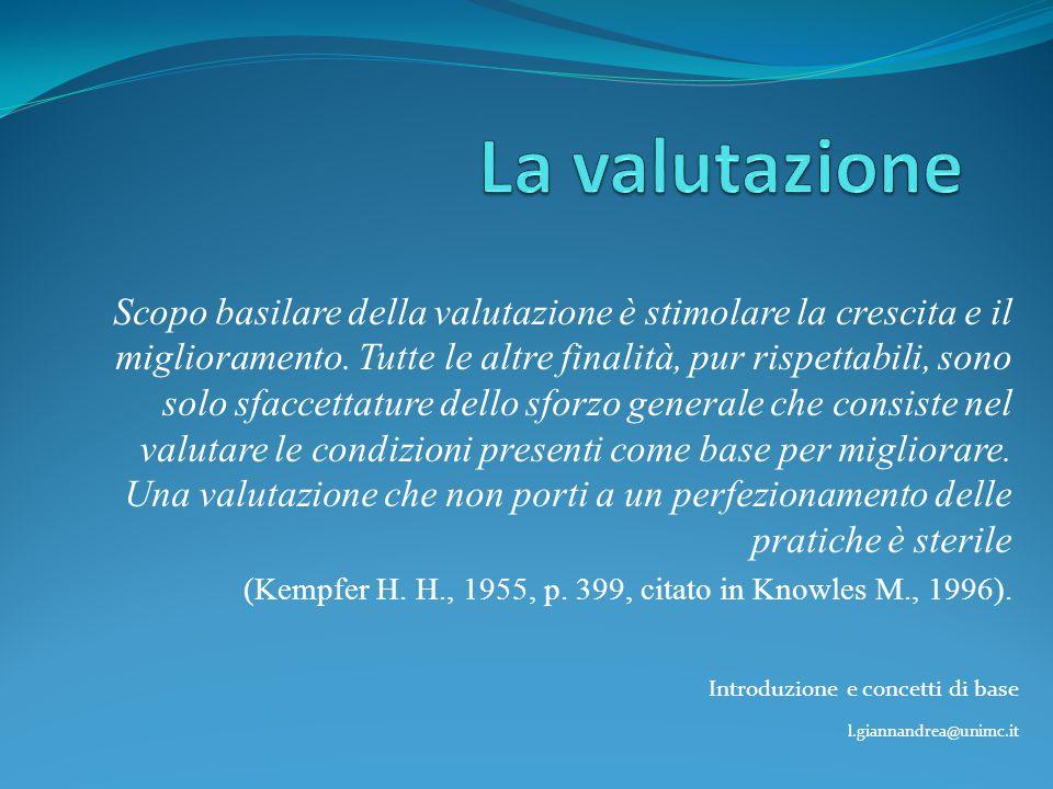 Introduzione e concetti di base l.giannandrea@unimc.it