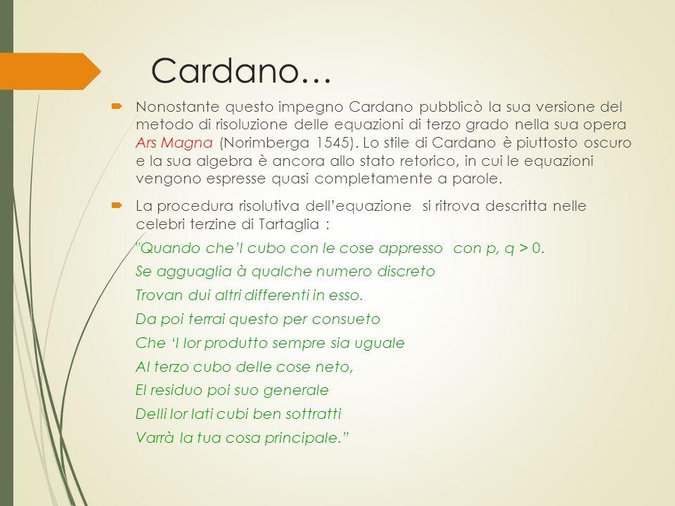 Cardano…