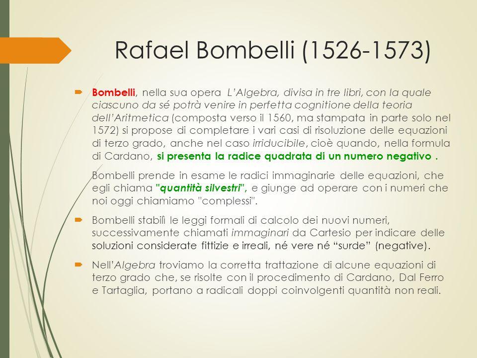 Rafael Bombelli (1526-1573)