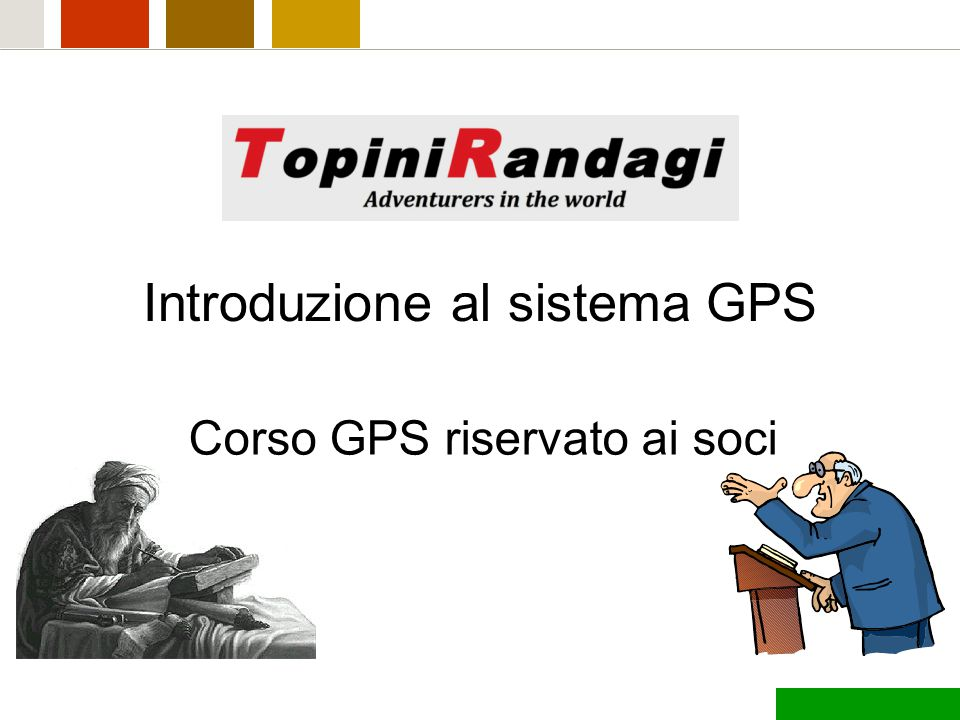Introduzione al sistema GPS