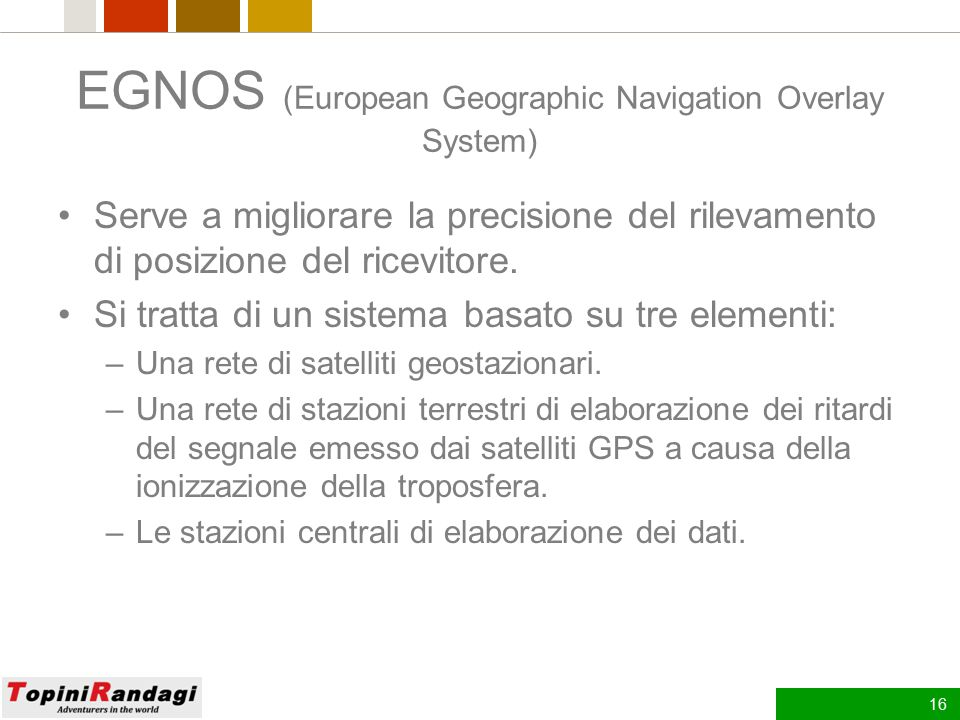 EGNOS (European Geographic Navigation Overlay System)