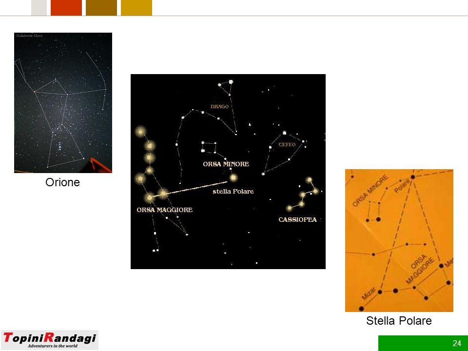 Orione Stella Polare