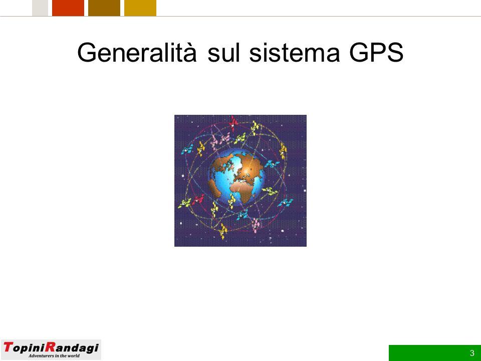 Generalità sul sistema GPS