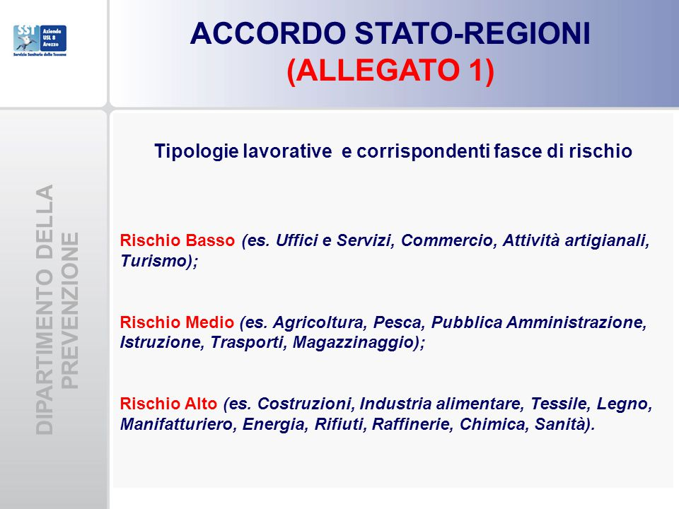 ACCORDO STATO-REGIONI (ALLEGATO 1)