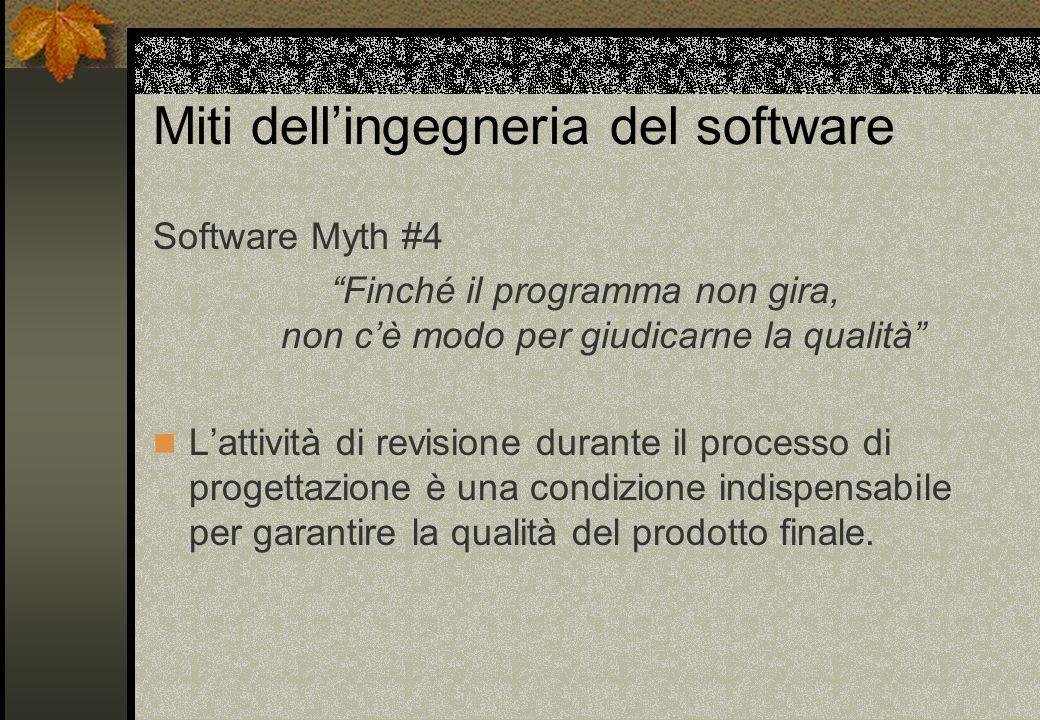 Miti dell'ingegneria del software