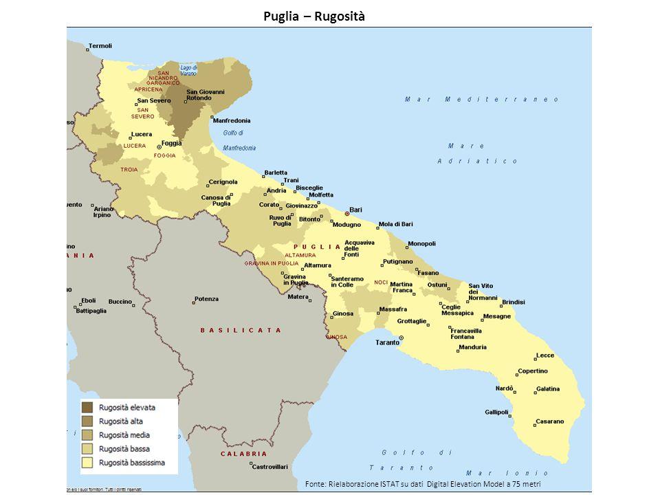 Puglia – Rugosità
