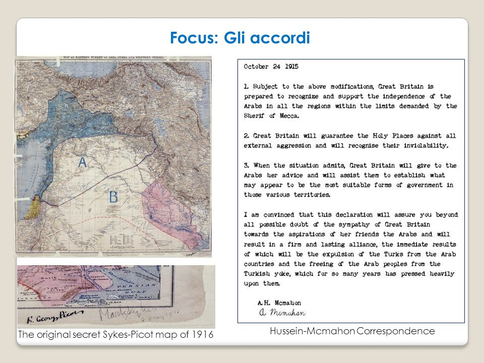 Focus: Gli accordi Hussein-Mcmahon Correspondence