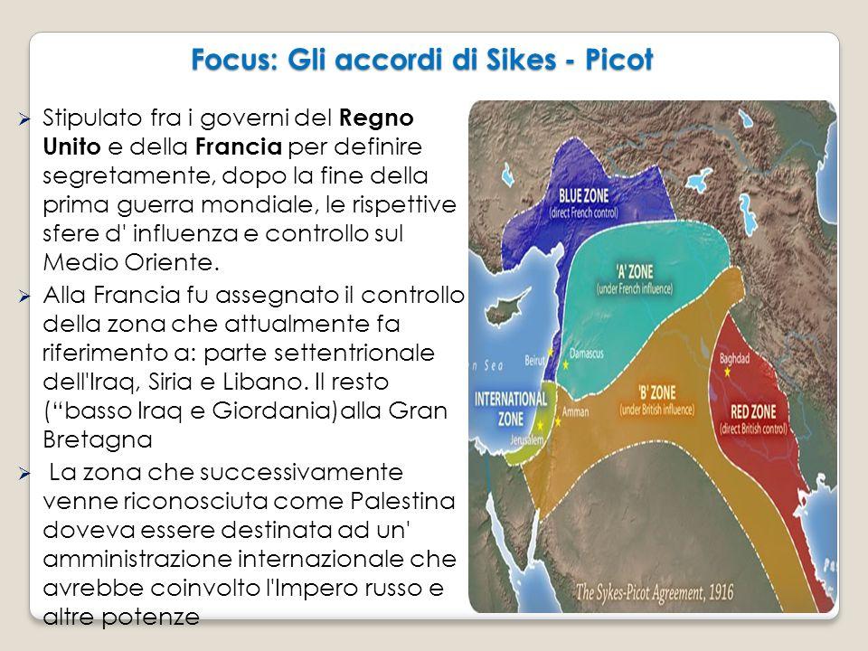 Focus: Gli accordi di Sikes - Picot