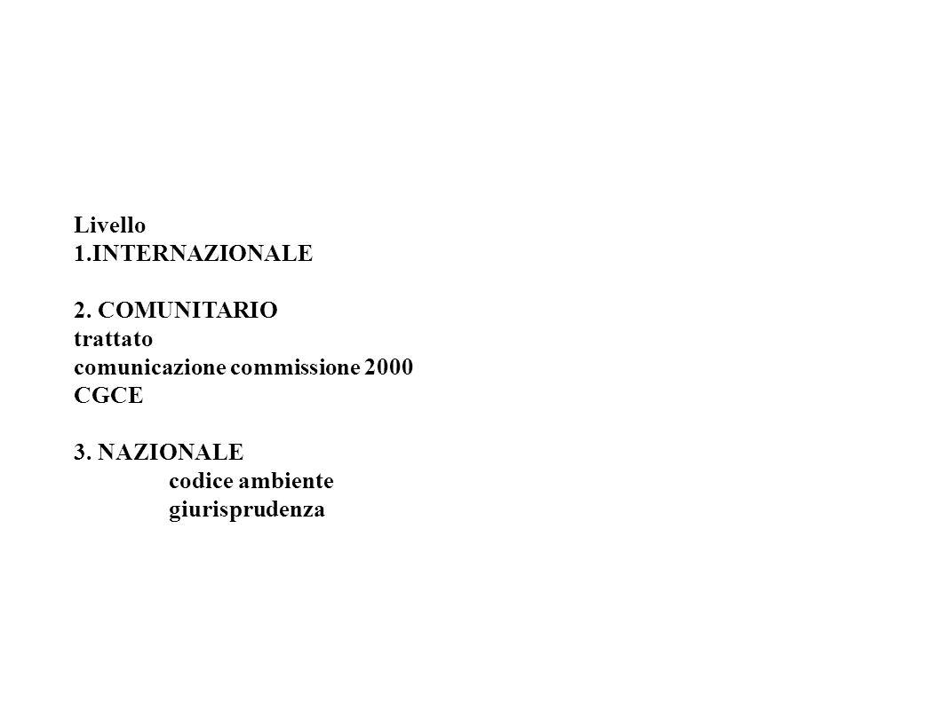 Livello 1. INTERNAZIONALE 2
