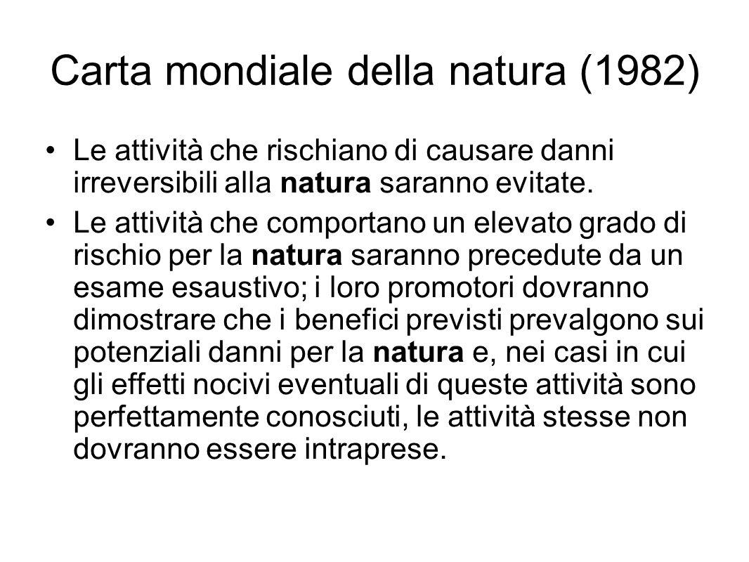Carta mondiale della natura (1982)