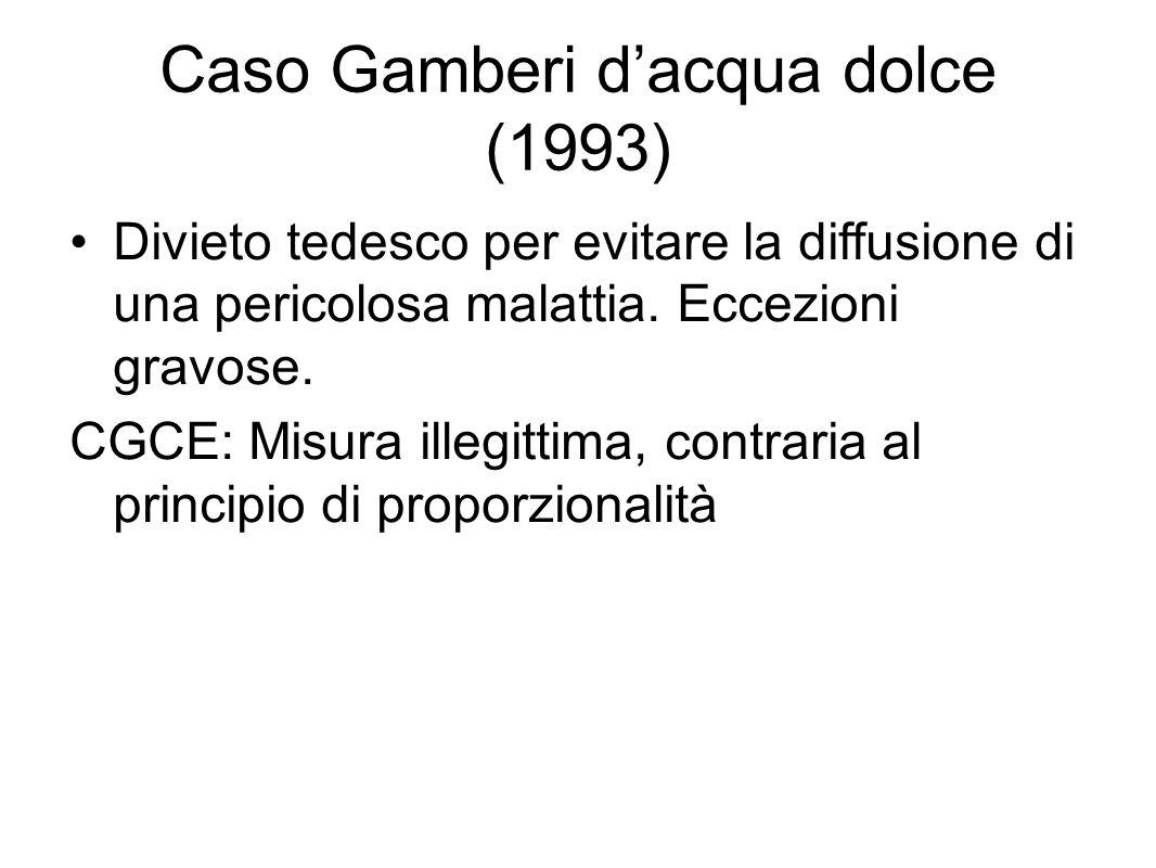 Caso Gamberi d'acqua dolce (1993)