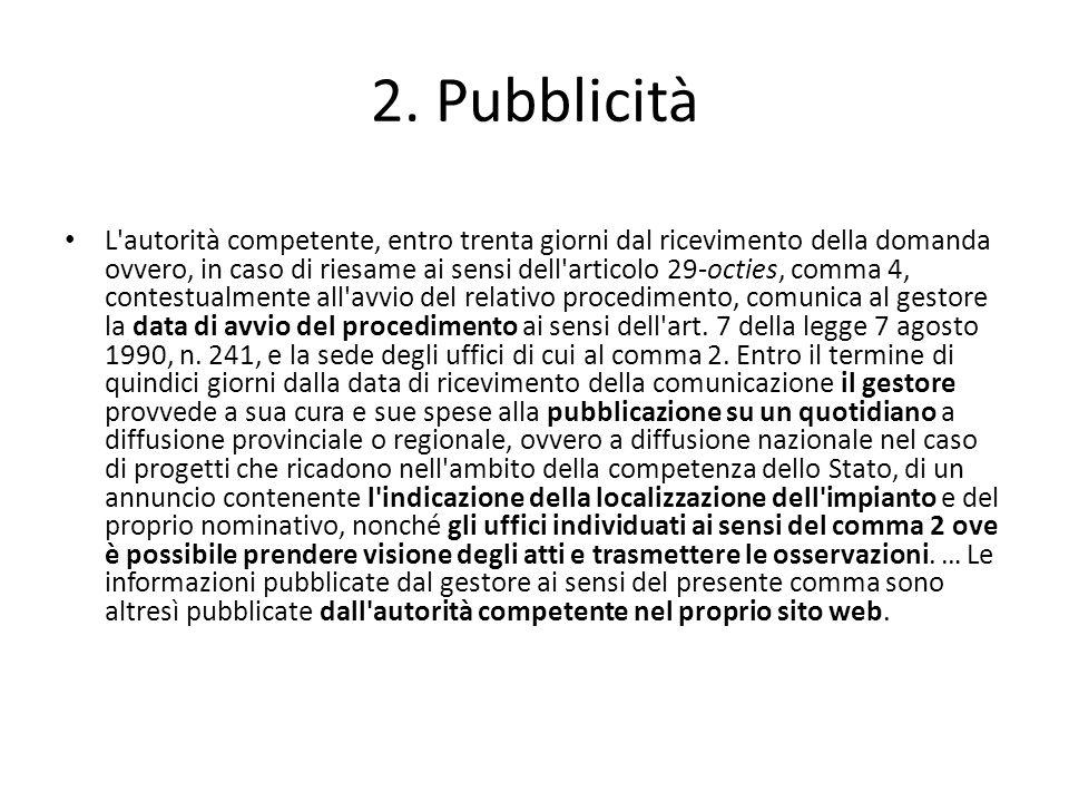 2. Pubblicità