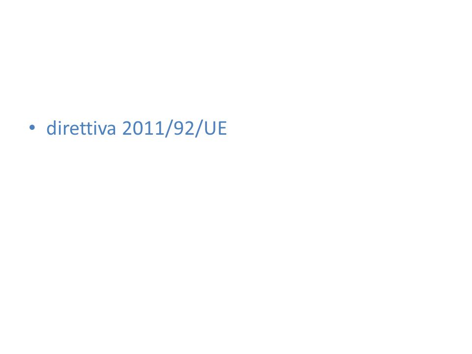 direttiva 2011/92/UE