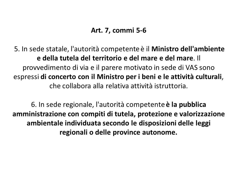 Art. 7, commi 5-6 5.