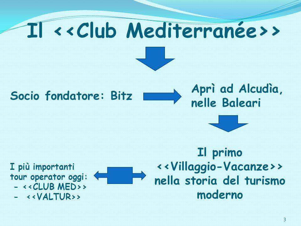 Il <<Club Mediterranée>>