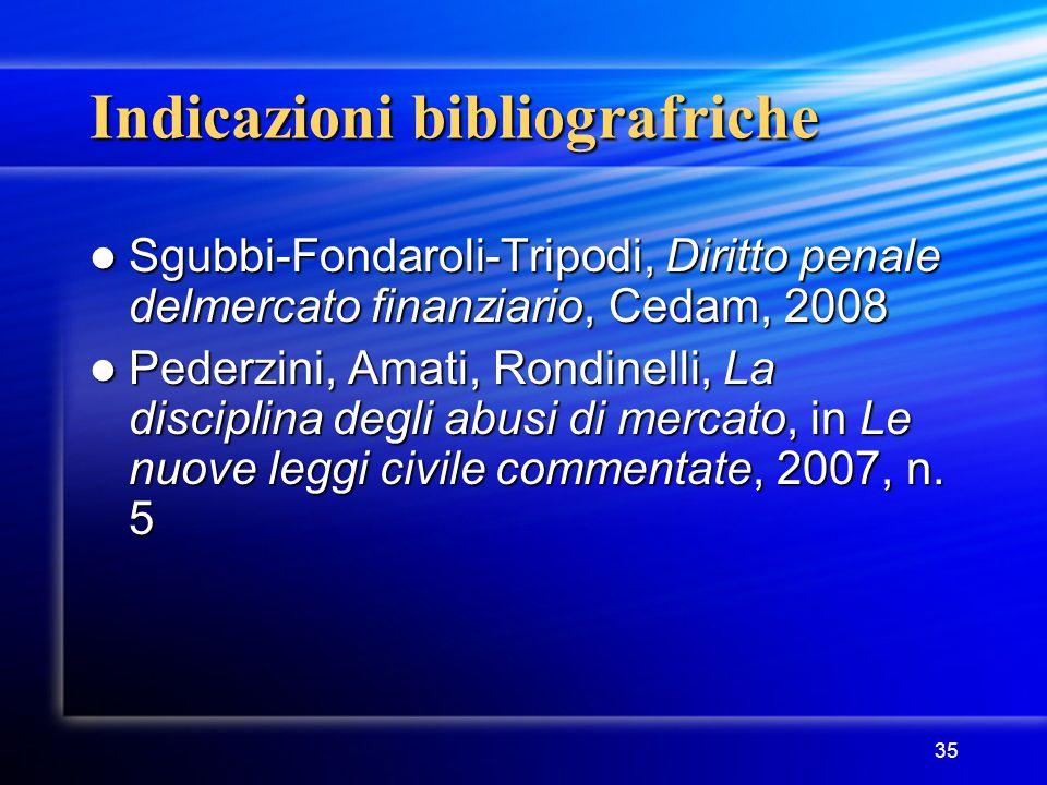 Indicazioni bibliografriche