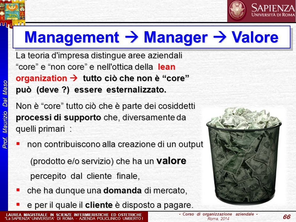 Management  Manager  Valore