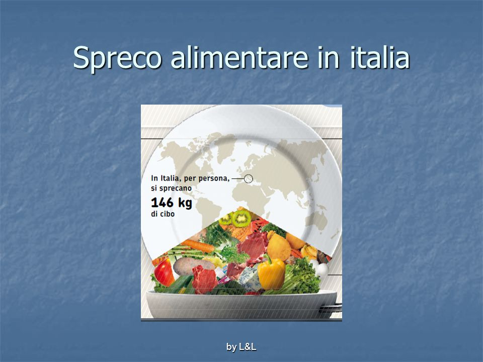 Spreco alimentare in italia