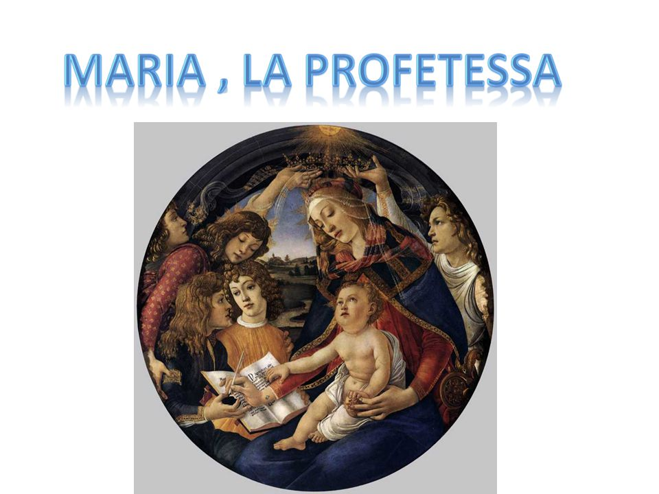 Sandro Botticelli, Madonna del Magnificat, 1480-1481, Galleria degli Uffizi, Firenze
