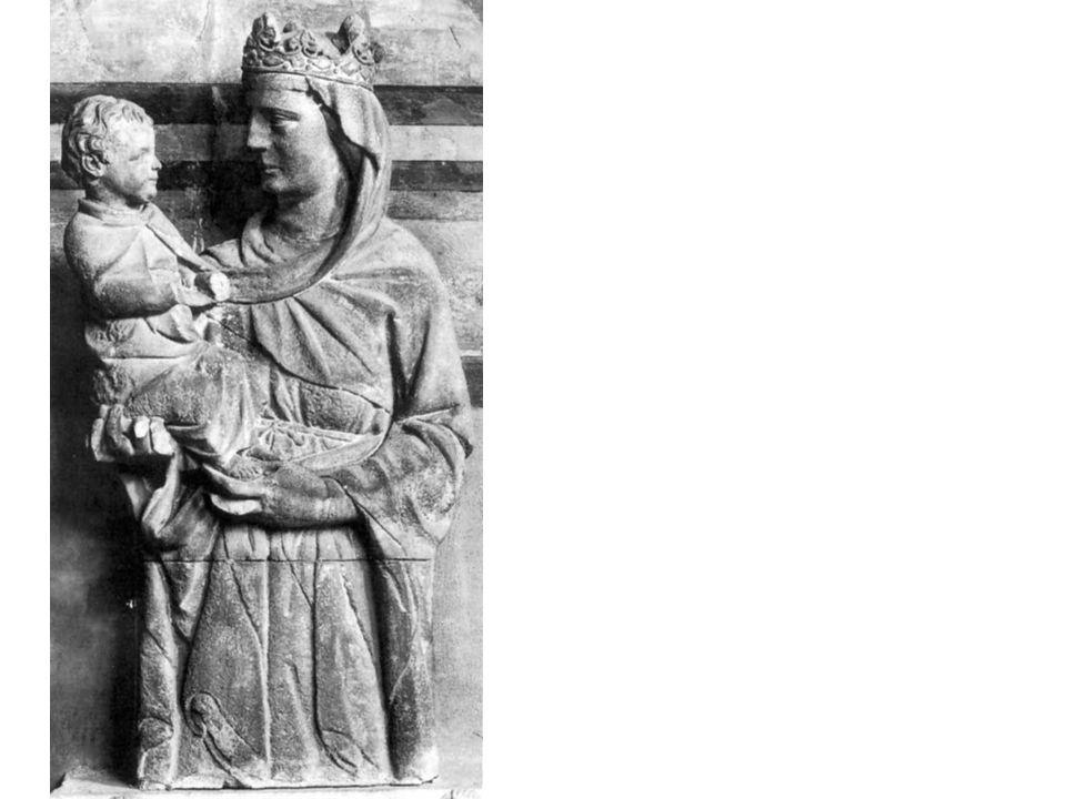 Giovanni Pisano, Madonna col bambino, 1229, Camposanto, Pisa