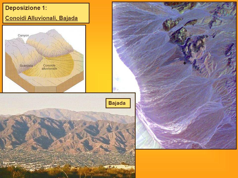 Deposizione 1: Conoidi Alluvionali, Bajada Bajada