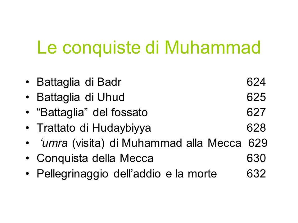 Le conquiste di Muhammad