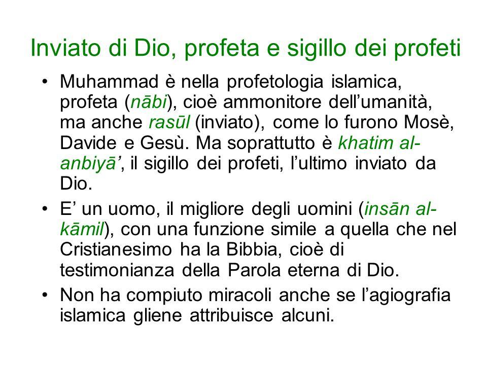 Inviato di Dio, profeta e sigillo dei profeti