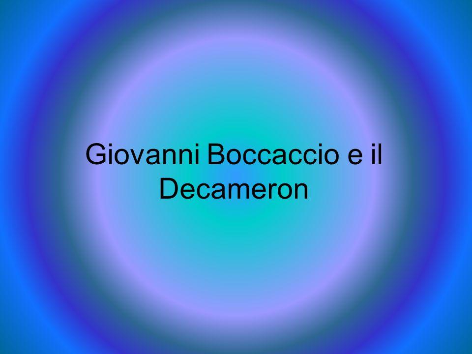 Giovanni Boccaccio e il Decameron