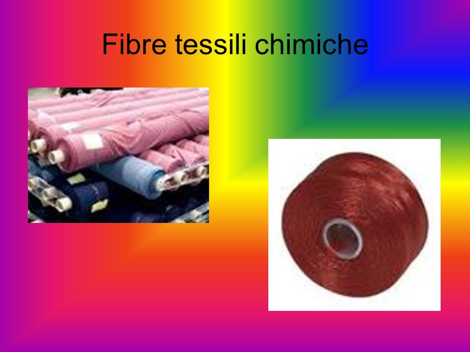 Fibre tessili chimiche