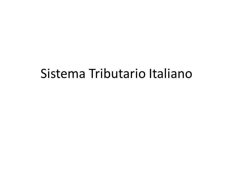 Sistema Tributario Italiano
