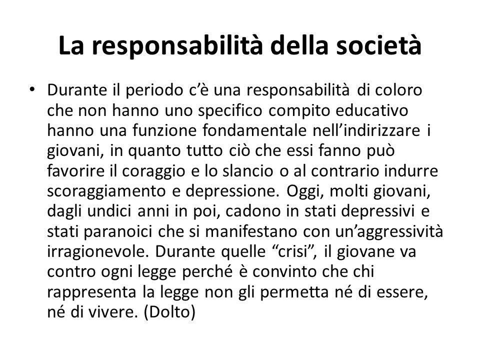 La responsabilità della società