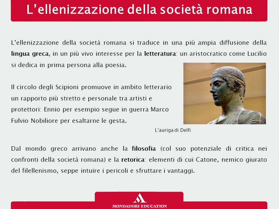 L'ellenizzazione della società romana